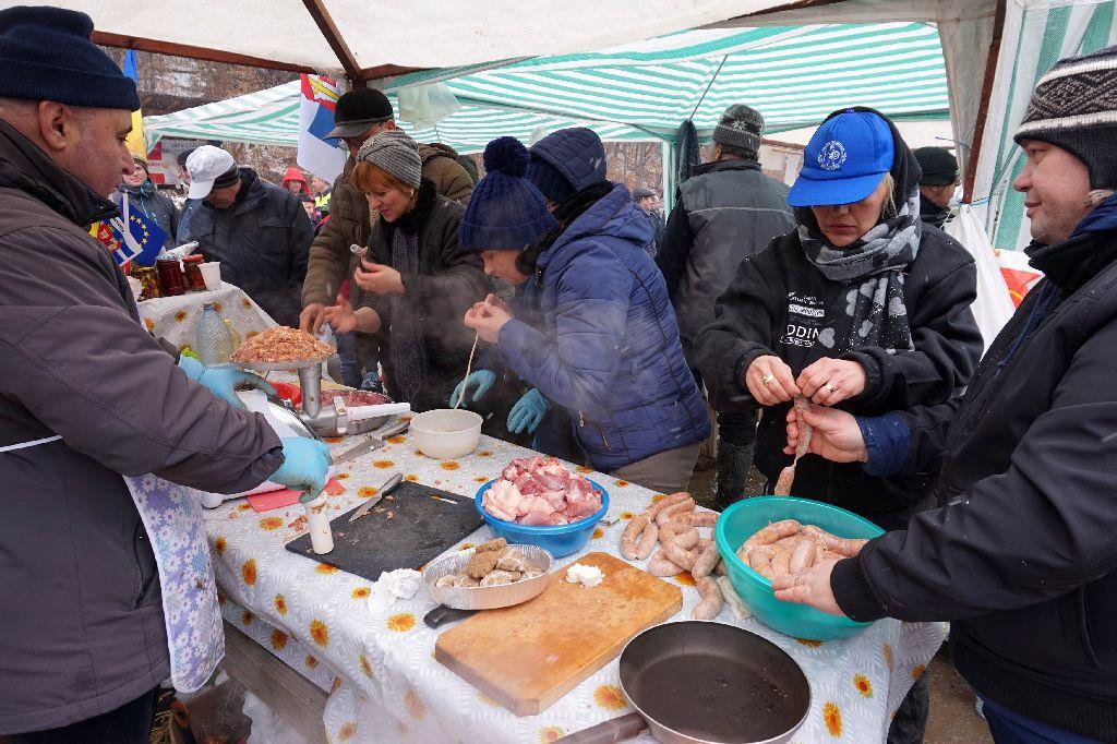 Nemzetközi disznótoros fesztivál Bálványosfürdőn
