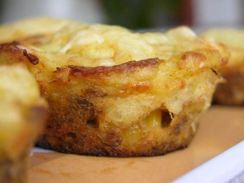 Shepherd's pie, alias cottage muffin