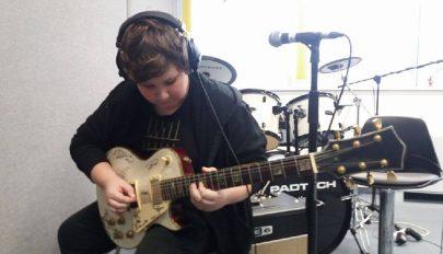 """""""Egész életemben zenélni akarok"""""""