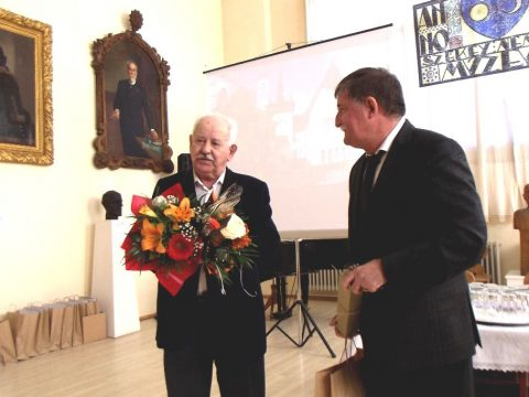 Életműdíj Albert Ernőnek