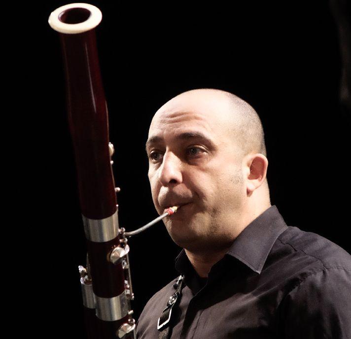 Ráduly Ádám egy fagottra írt csárdás-téma miatt szeretett bele a hangszerbe. Fotó: Henning János