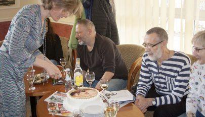 Lenin-torta szülinapra