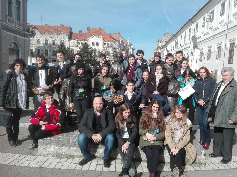 A 27. Erdélyi Magyar Matematikaversenyen Kovászna megyét képviselő diákok Nagyváradon