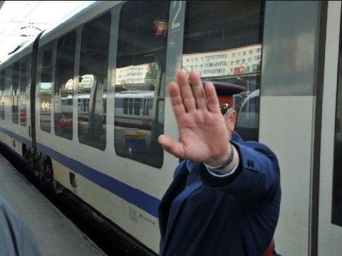Spontán sztrájk a vasútnál