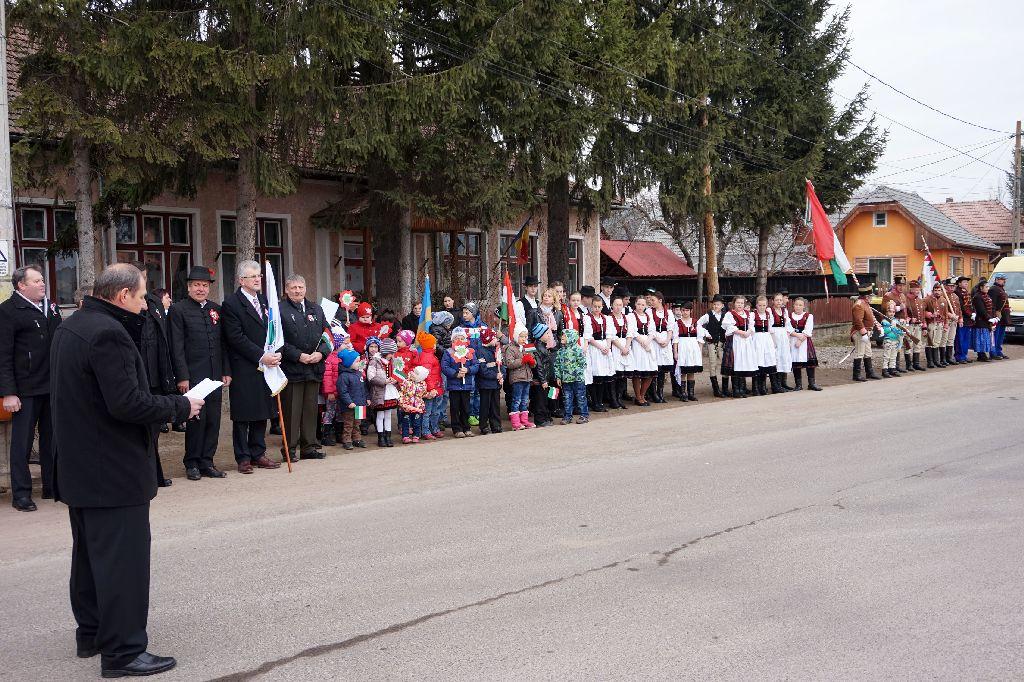 A bélafalvi rendezvény Bögözi László helyi RMDSZ-elnök beszédével kezdődött