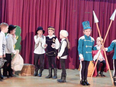 Megyei gyermekszínjátszók találkozója