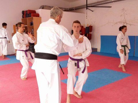 A karate az életre nevel