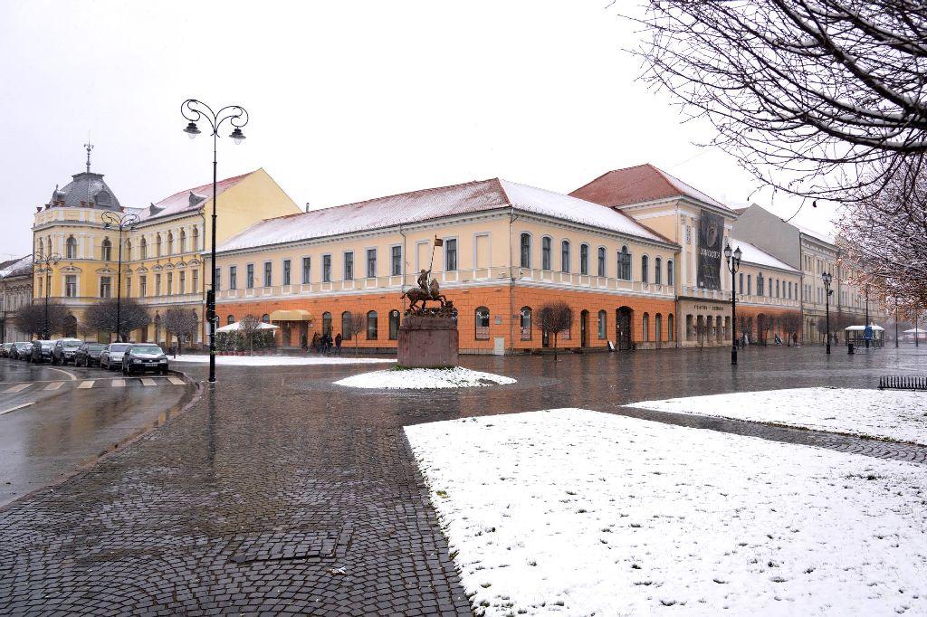 A főtér kialakításának ára van Fotó: Vargyasi Levente