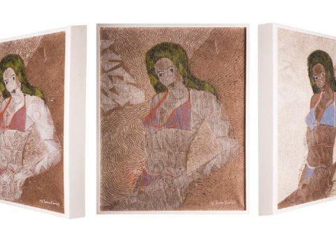 Dániel Éva új festményei
