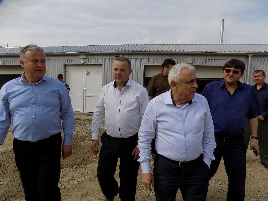 Miniszteri villámlátogatás