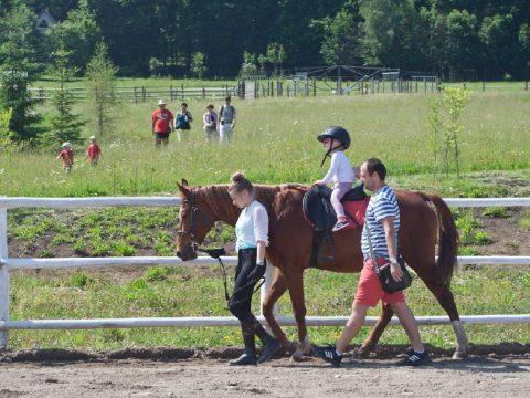 Legkisebbek is lovagoltak