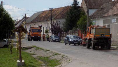 Javítják a Kossuth utcát