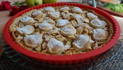 Amerikai almás pite