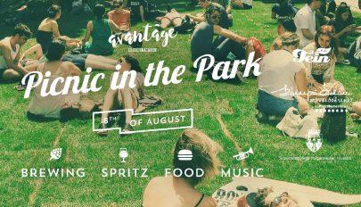 Piknik a parkban