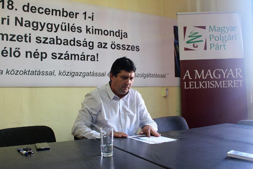 Kulcsár-Terza József: Visszautasítom a magyarellenesség újabb megnyilvánulását