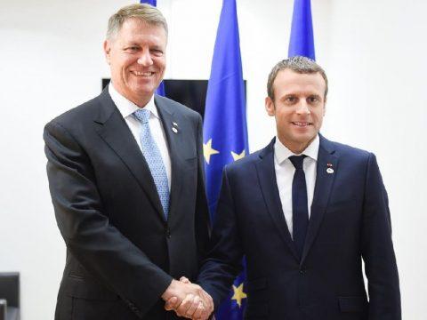 Macron Romániába látogatott