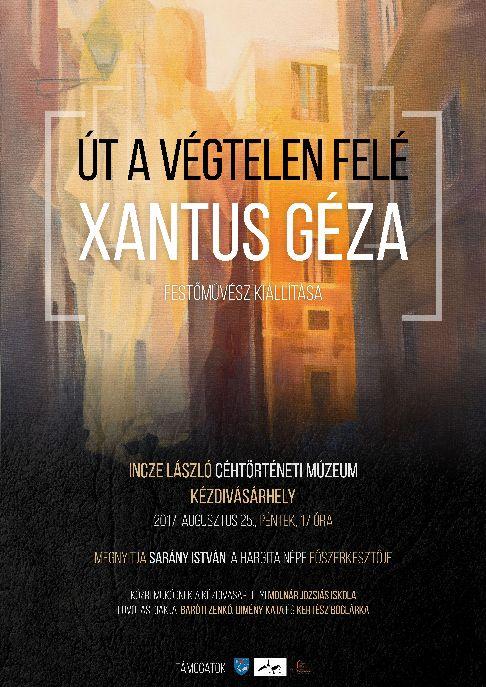Xantus Géza kiállítással lesz jelen a városünnepen