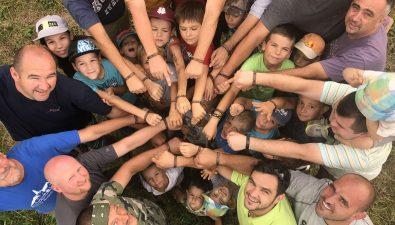 Nagy siker az apa–fia tábor