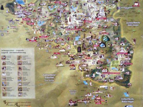 Egy turisztikai térképet sérelmez