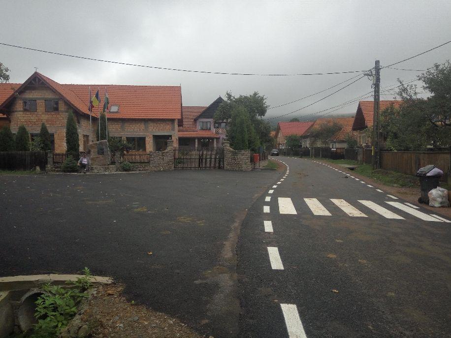 Útjavítások faluszerte