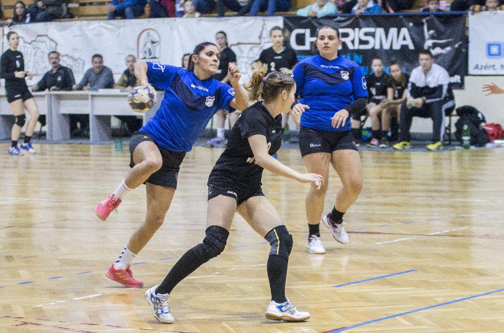 Lendületben a Mátis-testvérek, Zita 12, Zsuzsa egy gólt vállalt a győzelemből Fotó: Tofán Levente