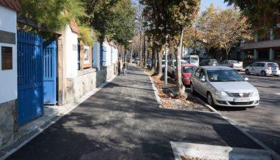 A Kós Károly utca is készül