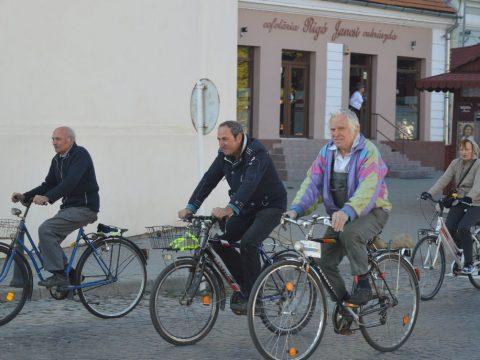 Közlekedjünk kerékpárral!