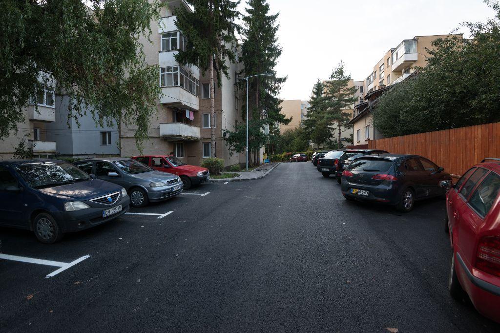 A Fáklya sétány is megújult Fotó: Vargyasi Levente
