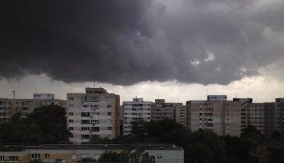 Nagy vihar volt kedd éjjel