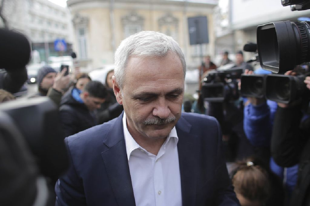 """Dragnea: nem """"gorillákkal"""" érkeztem Fotó: telegrafonline.ro"""