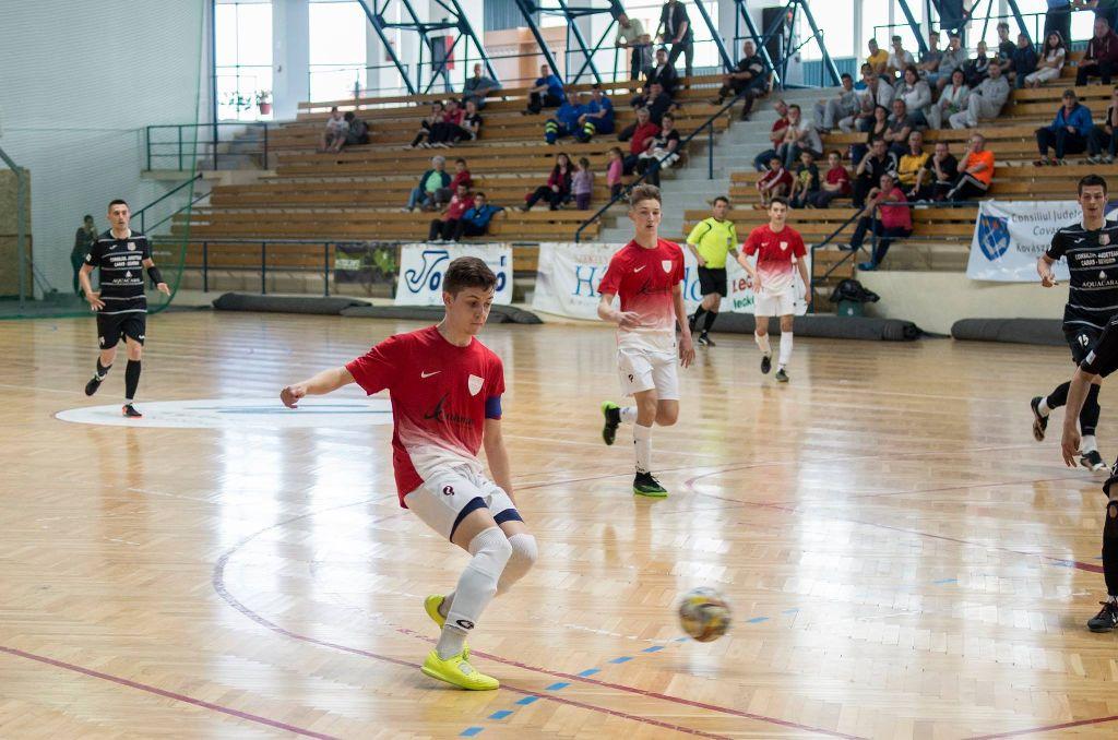 A KSE Futsalnál ígéretes utánpótlás-nevelés folyik Fotó: Tofán Levente
