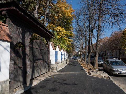 Kész a Kós Károly utca