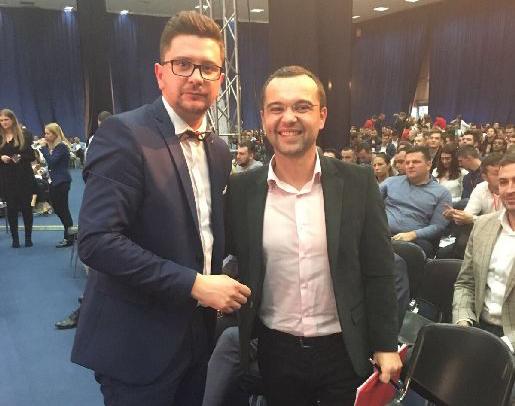 Oltean Csongor és Gabriel Petrea, a TSD régi-új elnöke