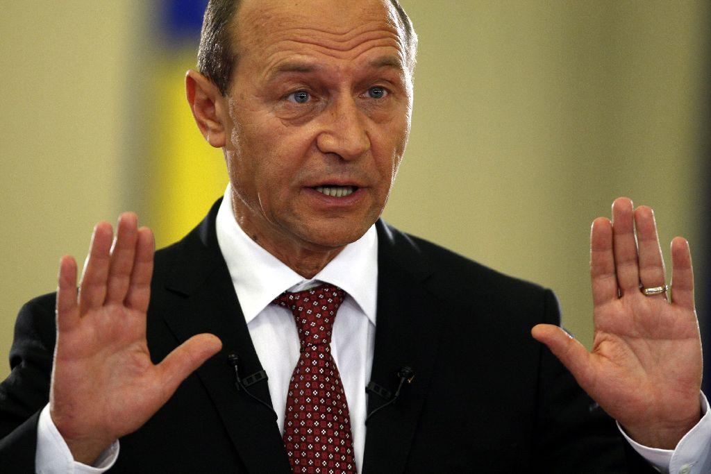 Băsescu bebizonyította, rombolni könnyebb, mint építeni Fotó: moldova24.info