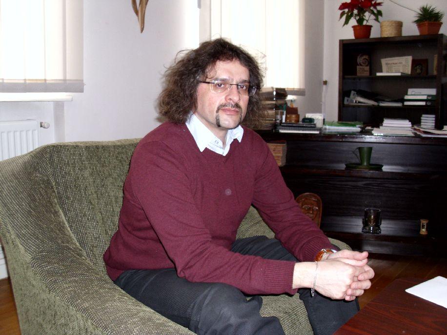 Szonda Szabolcs könyvtárigazgató fontos kultúraszervezői munkát is folytat