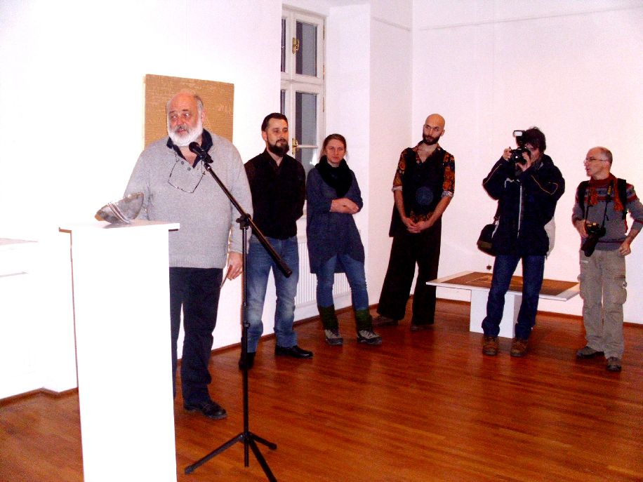 Balról jobbra: Vécsi Nagy Zoltán, Hosszú Zoltán, Péter Eszter, Katona Dávid, Albert Levente és Toró Attila