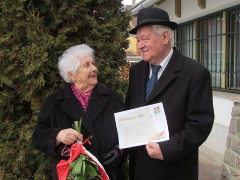 Házaspárokat köszöntöttek