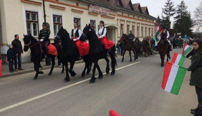 Március 15-e Kovásznán