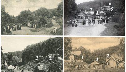 A régi Sugásfürdő képekben