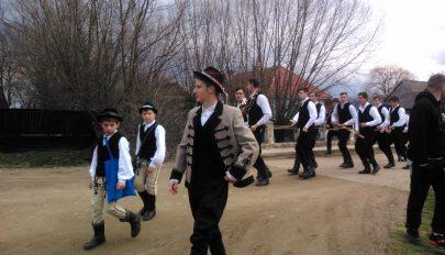 Húsvéti szánozás Orbaiszéken