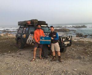 Célba ért az expedíció