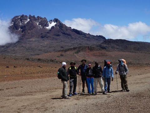 A Kilimandzsáró havát keresték