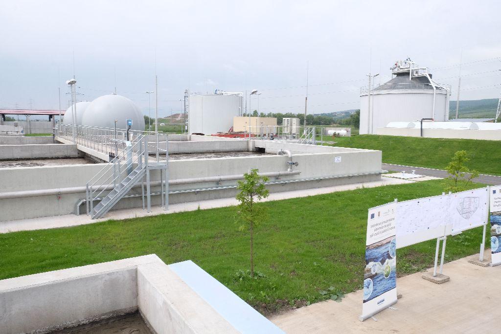 Olyan biogázrendszert is beüzemeltek, amely a telep villanyáram szükségletének 70 százalékát biztosítja Fotó: Henning János