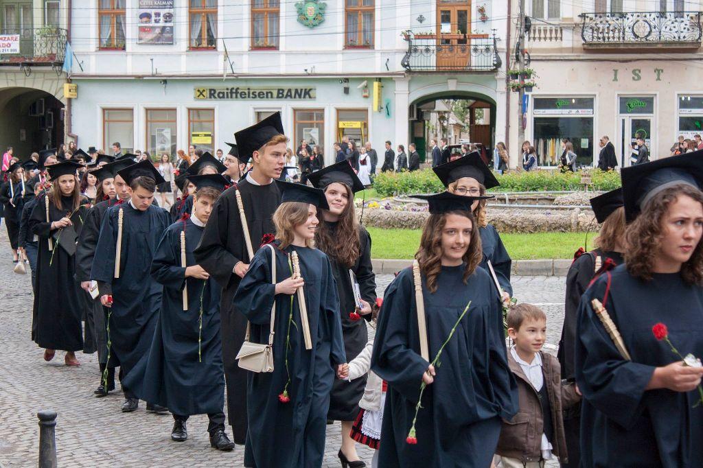 A kézdivásárhelyi Református Kollégium tavalyi végzősei