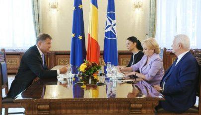 Johannis–Dăncilă találkozó
