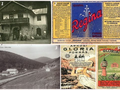 Borvízforrásaink régi képeken, címkéken