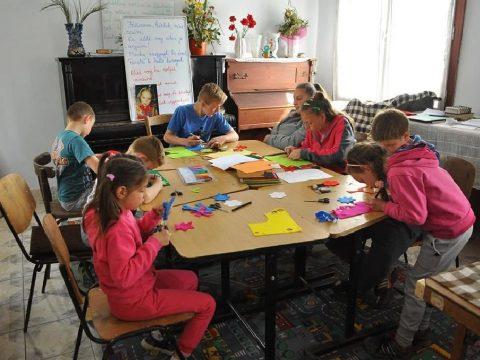 Tanévvégi táborozás