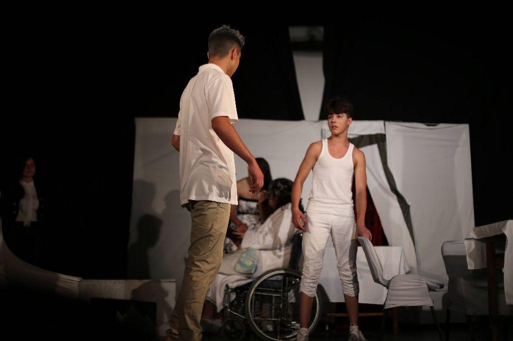Négy színházi előadást láthatott a kovásznai közönség Fotó: Bende Beáta