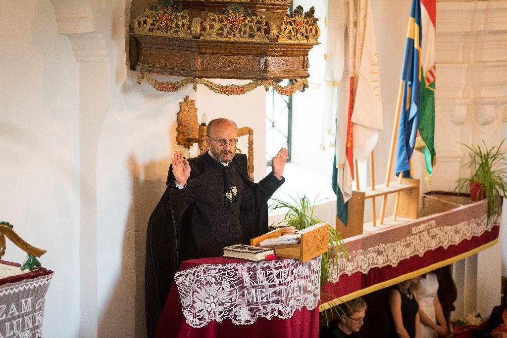 Sándor István több mint 32 évet szolgált Bodosban