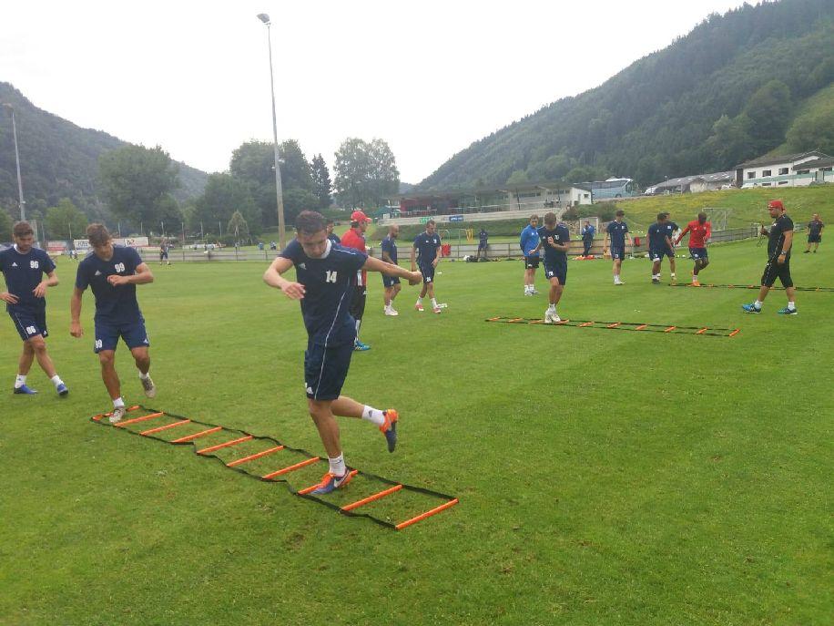 Kemény erőnléti edzésekkel terhelik az OSK labdarúgóit Fotó: Sepsi OSK